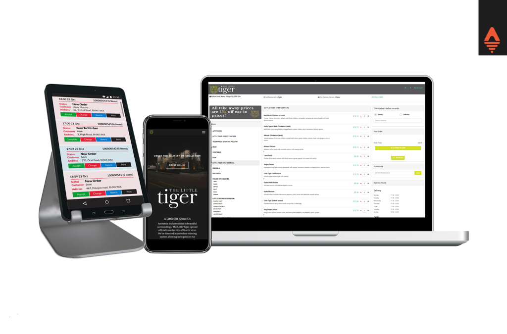 the little tiger online ordering system